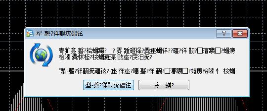 【MT4软件上的文字出现乱码是怎么回事?怎么解决?】
