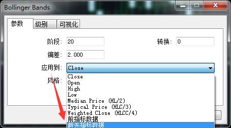 在MT5上怎么把布林带指标添加到副图窗口
